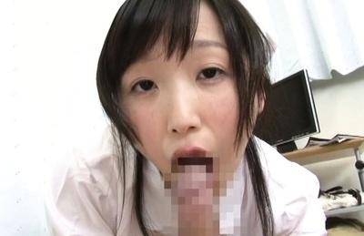 Hikari matsushita. Hikari Matsushita Asian naughty nurse licks